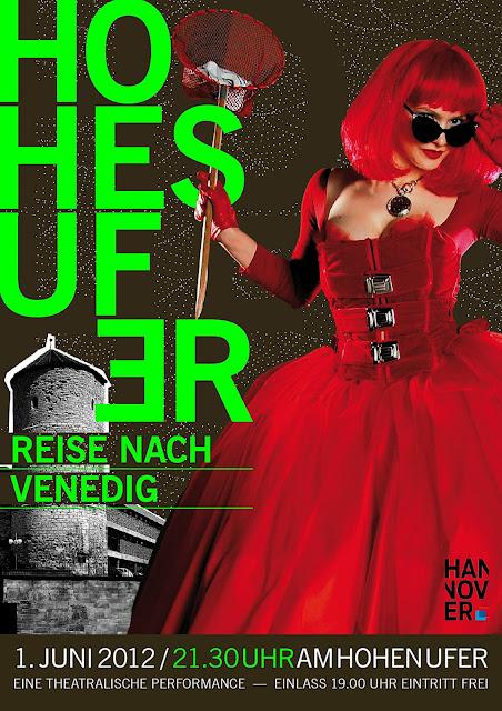 Altstadt-Hohes-Ufer-Reise-nach-Venedig-Plakat