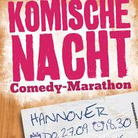 Komische Nacht 2012 Brauhaus Ernst August Hannover
